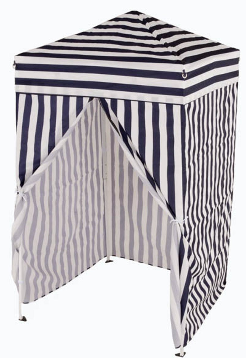 Impact Canopy 4x4 Pop up Changing Dressing Room, Privacy Cabana, Portable Changing Room, Navy Blue/White