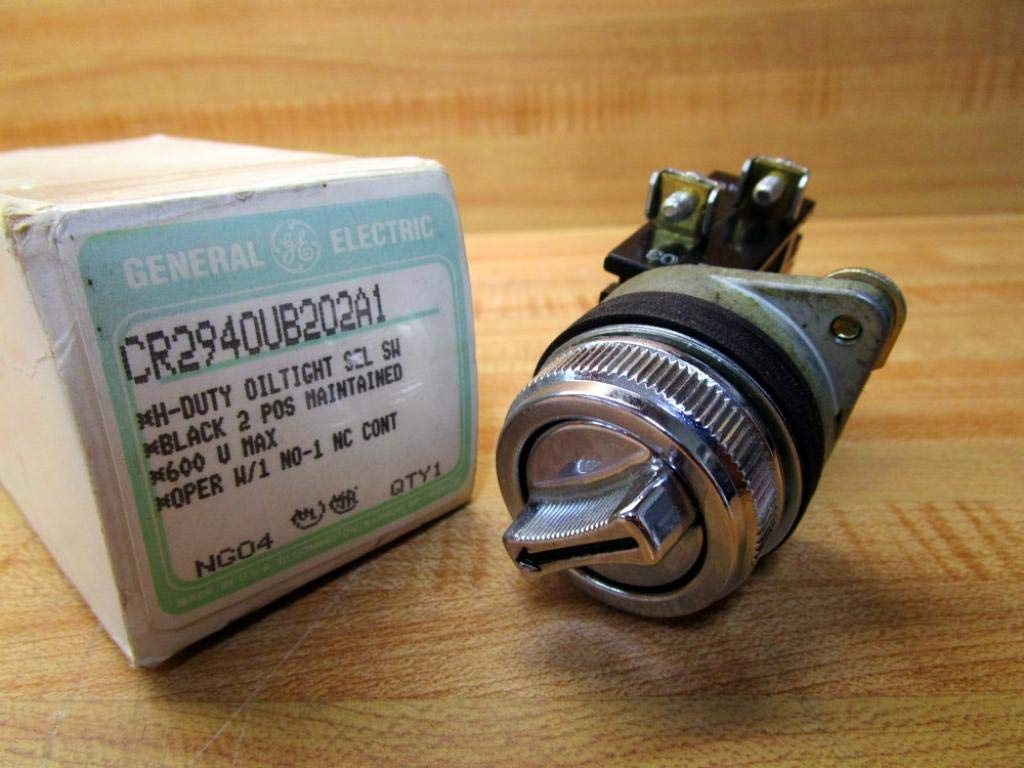 General Electric CR2940UB202A1 Selector Switch by General Electric