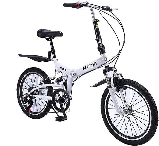ANJING Bicicleta Plegable de 20 Pulgadas, Bike Liviana con ...