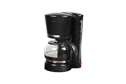 Medion MD 17229 - Cafetera eléctrica, capacidad de 1.25 litros, 870 vatios de potencia