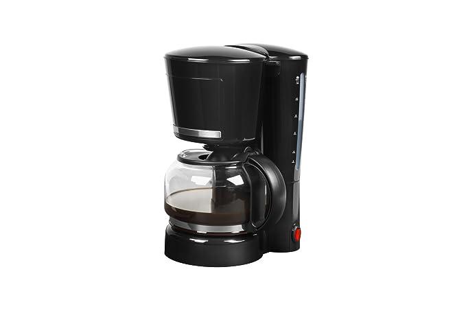 Medion MD 17229 Cafetera eléctrica, 870 W, 1.25 litros, Acero ...