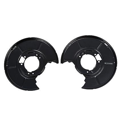 Amazon.com: REFURBISHHOUSE for BMW E36 E46 316i-328i Rear DISC Brake Back Plate Right & Left Hand A885: Automotive