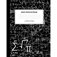 Graph Paper Notebook: Math Notebook Squared Graphing Paper Quad Ruled 100 Pages Large (8.5 X 11) Softbound Cover