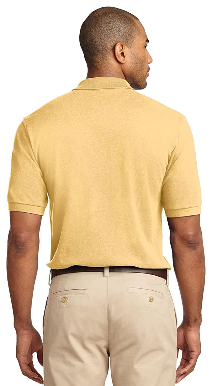 Port Authority Pique Knit Sport Shirt, Steel Grey