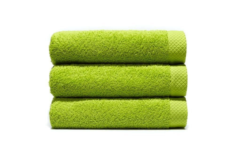 Home Basic - Juego de 3 toallas para tocador, 33 x 50 cm, lavabo, 50 x 100 cm y baño, 100 x 150 cm, color pistacho: Amazon.es: Hogar