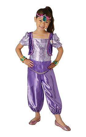 Shimmer & Shine - Disfraz de Shimmer para niña, infantil 1-2 años (Rubies 630716-T)