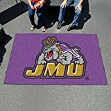 Fanmats Team Support Outdoor Sports Carpet Decorative Accessories Logo Printed James Madison Ulti-Mat 60''96''