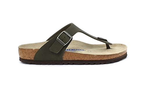 Birkenstock Slipper Gizeh BS Desert Soil Green 1008425 Taglia 44 - Colore  Verde Scuro 1e80276a204