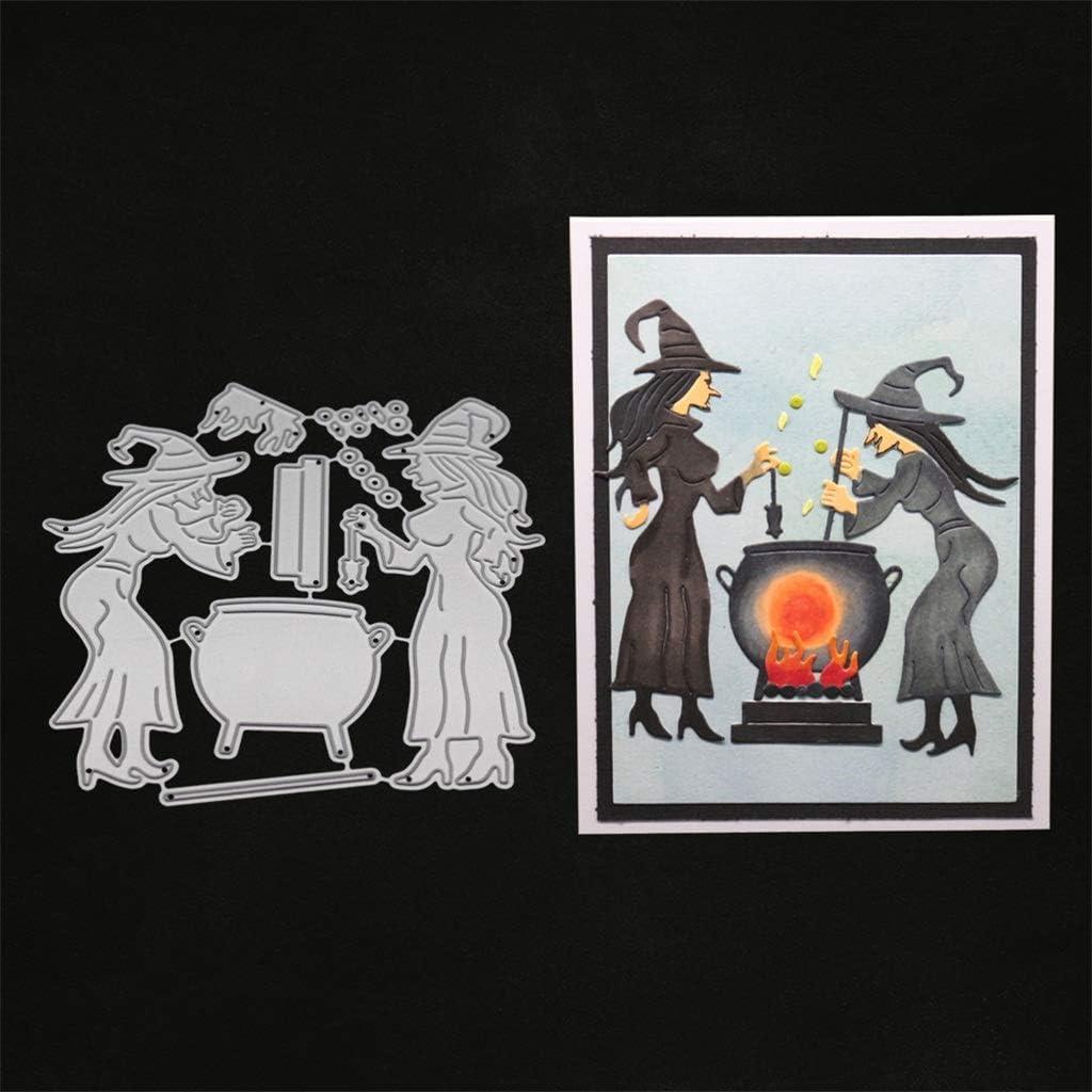Halloween Witch Cutting Dies