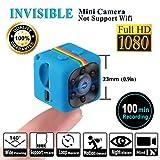 SQ11 1080P Mini Camera , HD Camcorder , Nanny Cam , Hidden Camera ( Visione Notturna , FOV140 , 1080P ) Videocamere Covert Mini DV Videoregistratore Sportivo di LITEBEE