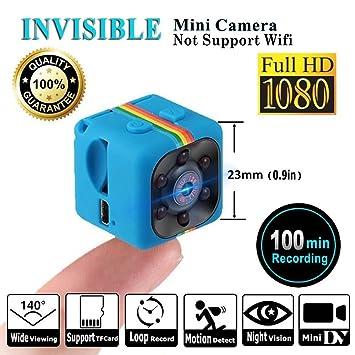 SQ11 Mini cámara 1080P , Mini Cam , Portable HD Nanny Web Cam (visión nocturna