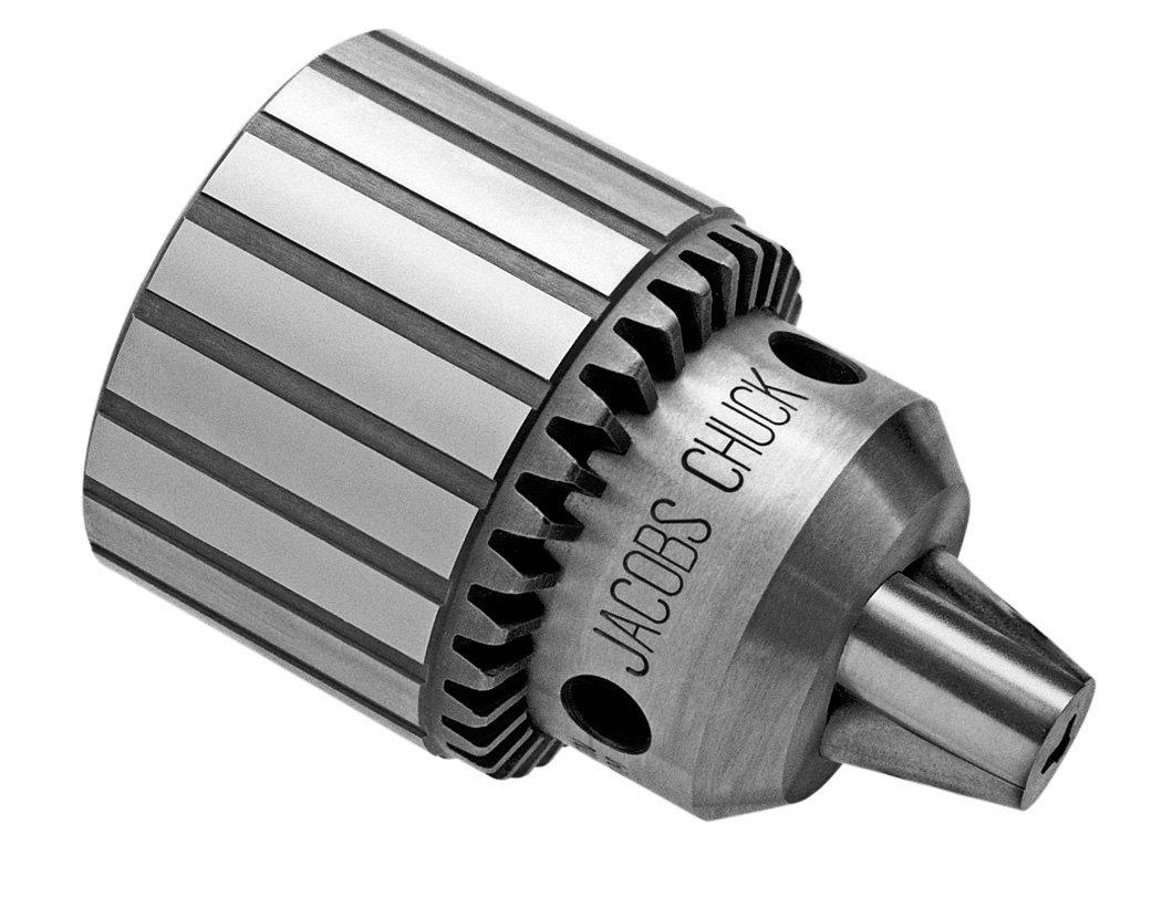 Jacobs 6309D Heavy Duty Plain Bearing  Drill Chuck, 3 Jacobs Taper Mount, 0.18' to 0.80' Drill Bit Capacity, K4 Key