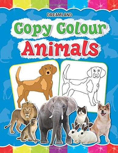 Copy Colour: Animals (Copy Colour Books)