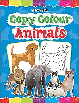 buy copy colour animals copy colour books book online at low prices in india copy colour animals copy colour books reviews ratings amazonin - Pictures Of Animals To Colour In