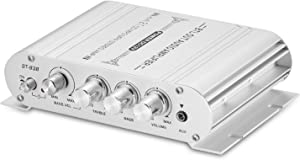 Mini HiFi Stereo 2.1 Channel Audio Amplifier for Home Car Marine Subwoofer Amp