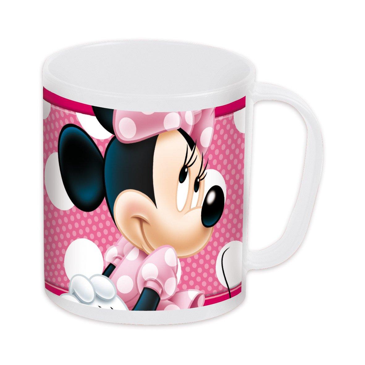 Joy Toy 736514 - Disney Minnie - Taza para microondas (350 ml ...