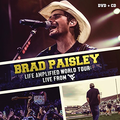 Brad Paisley - Life Amplified World Tour: Live From Wvu [cd + Dvd] - Zortam Music