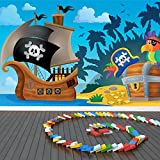 Pirate Ship Wall Mural Pirate Treasure Photo Wallpaper Kids Bedroom Home  Decor Available In 8 Sizes Part 98
