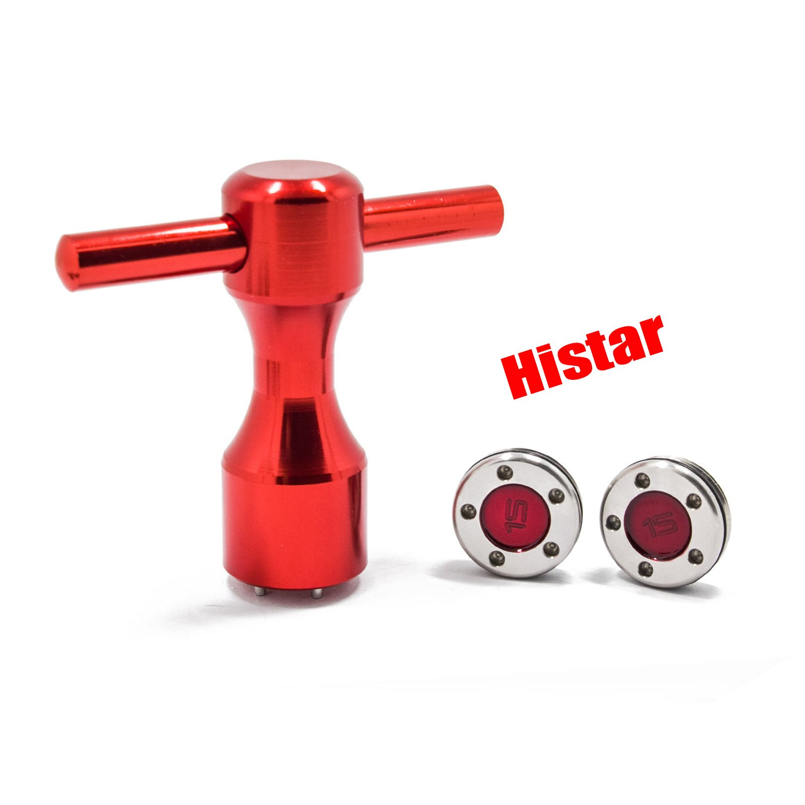 HISTAR 2Pcs Golf Custom red Weights + Red Wrench for Titleist Scotty Cameron Putters by HISTAR