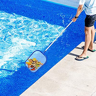 Tencoz Recogehojas para Piscinas, Pool Net Leaf Skimmer, Red para ...