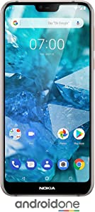 "Nokia 7.1 - Android 9.0 Pie - 64 GB - Dual Camera - Dual SIM Unlocked Smartphone (Verizon/AT&T/T-Mobile/MetroPCS/Cricket/H2O) - 5.84"" FHD+ HDR Screen - Steel - U.S. Warranty"