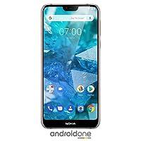 Nokia 7.1 - Android One (Pie) - 64GB - 12+5MP Dual Camera - Dual SIM Desbloqueado Smartphone, Azul