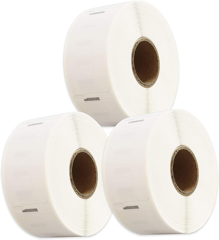Papier /Étiquettes 19mm x 51mm 500 Etiquettes par rouleau Cartridges Kingdom 11355 S0722550 compatible pour Dymo LabelWriter /& Seiko Smart Imprimantes dEtiquettes