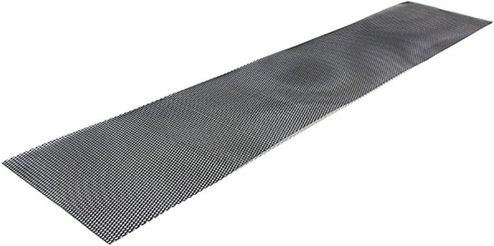 Tenzo-R 38282 Aluminium Gitter Renngitter Wabengitter Racegitter 100X40cm 6x10mm Schwarz