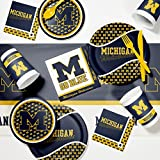 University of Michigan Game Day Party Supplies Kit