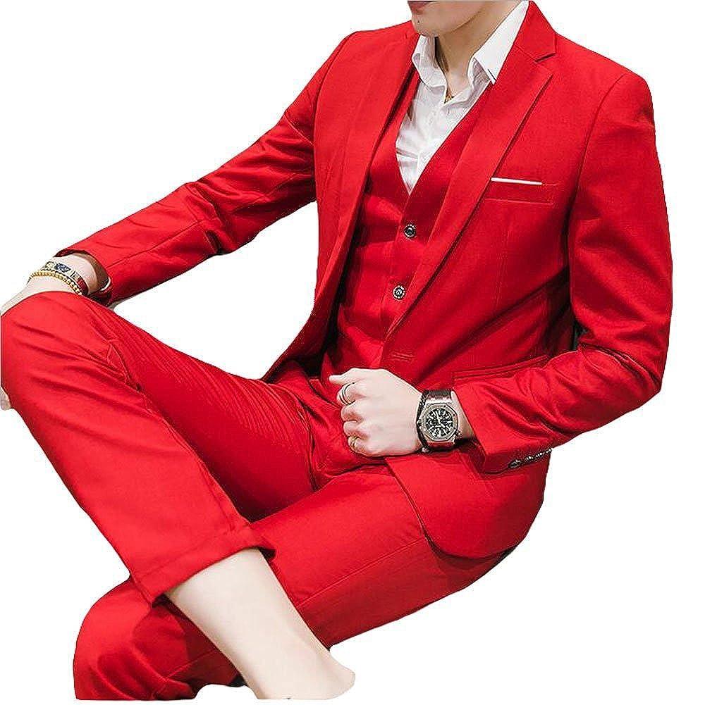 O.D.W - Traje - para Hombre Rojo Rosso 94: Amazon.es: Ropa y ...