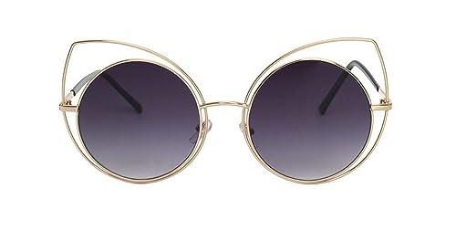 La Sra Grandes De La Caja Gafas De Sol Gafas De Sol Gafas De Marco Redondo De Personalidad Ritmo Cal...