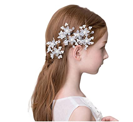 キッズアクセサリー 子供髪飾り ティアラ ヘアアクセサリー チュチュ カチューシャ ティアラ ハート クロス 一粒ダイヤ
