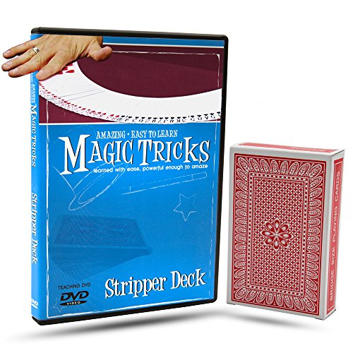 Amazing Easy To Learn Magic Tricks- Stripper Deck Combo - Ing Costumes Online