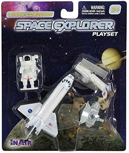 (InAir WowToyz Space Shuttle (4 Piece Playset))