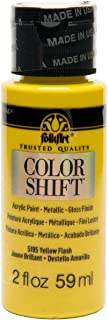 product image for FolkArt Color Shift Acrylic Paint in Assorted Colors (2 ounce), Yellow Flash