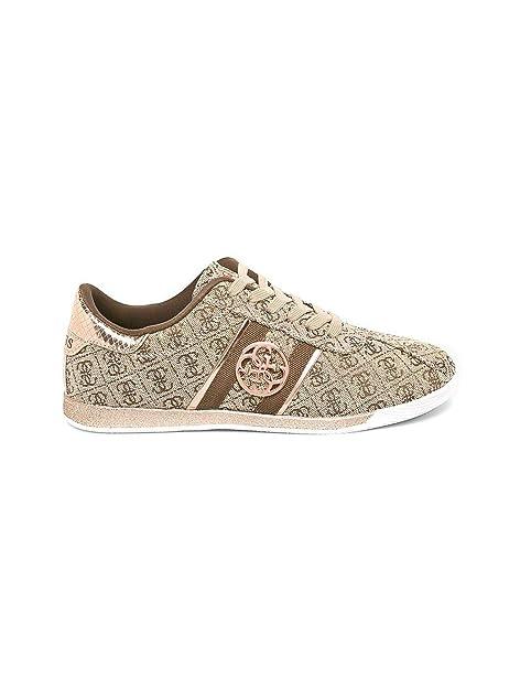 Bassa Scarpe Donna ModRylinn Tessuto Beigelight Sneaker Guess 5qA34RjL