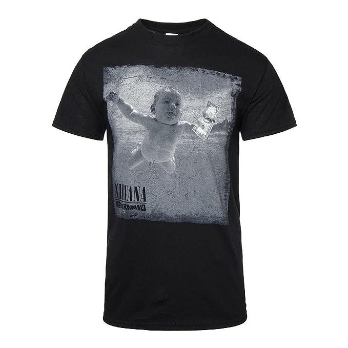 92020578 Amazon.com: Nirvana Unisex Adult's Nevermind T Shirt: Clothing