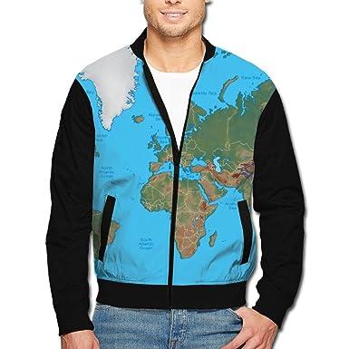 Amazon scooly world map coastline youth long sleeve full zip scooly world map coastline men long sleeve full zip jacket small gumiabroncs Choice Image