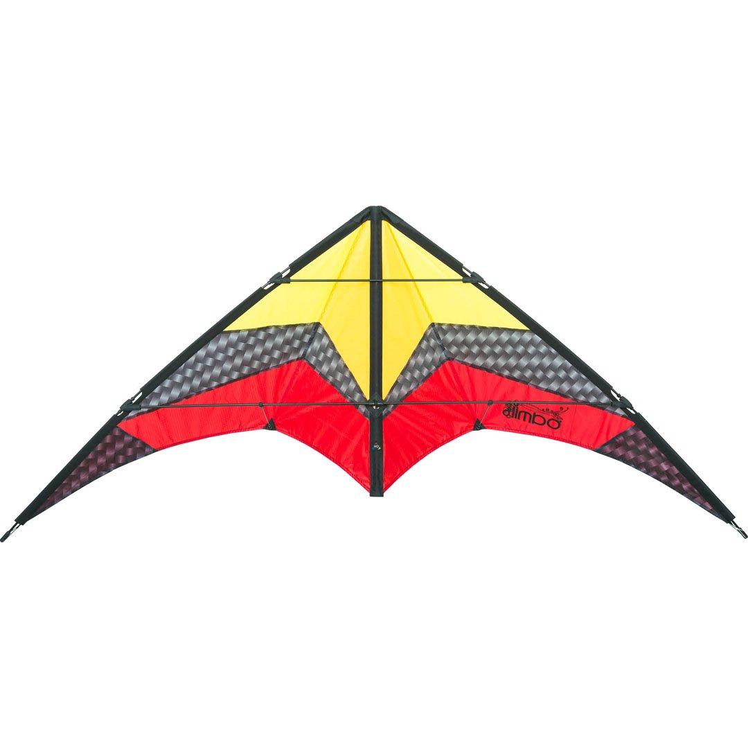 HQ Limbo II Hielo Stunt Kite Invento, 2 Cables envergadura de 155 cm, Correas y Cables incluidos. 112384