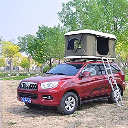Amazon com: Offroading now Hard Shell Roof Tent: Automotive