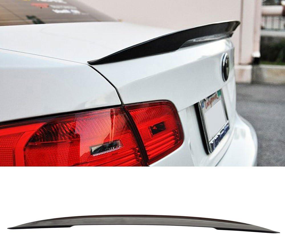 Painted Rear Trunk Lip Spoiler for BMW F30 F80 Sedan M3 Style Black Sapphire 475