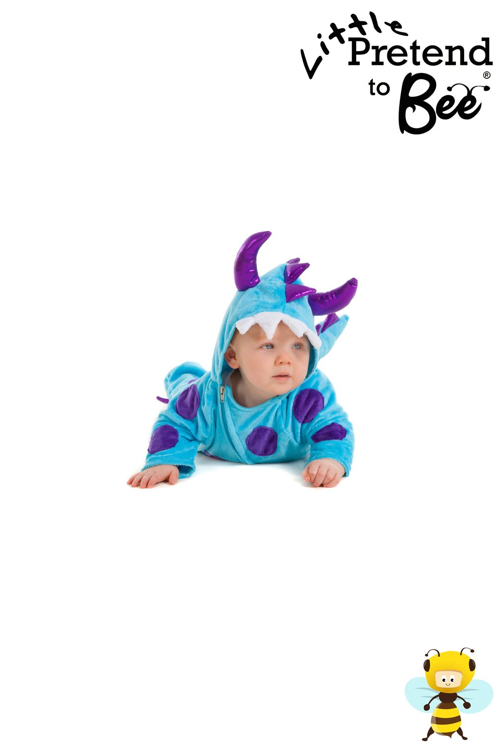 baby boys or girls kids monster dragon dinosaur fancy dress party halloween onesie costume for babies or toddlers 12 18 months pretend to bee