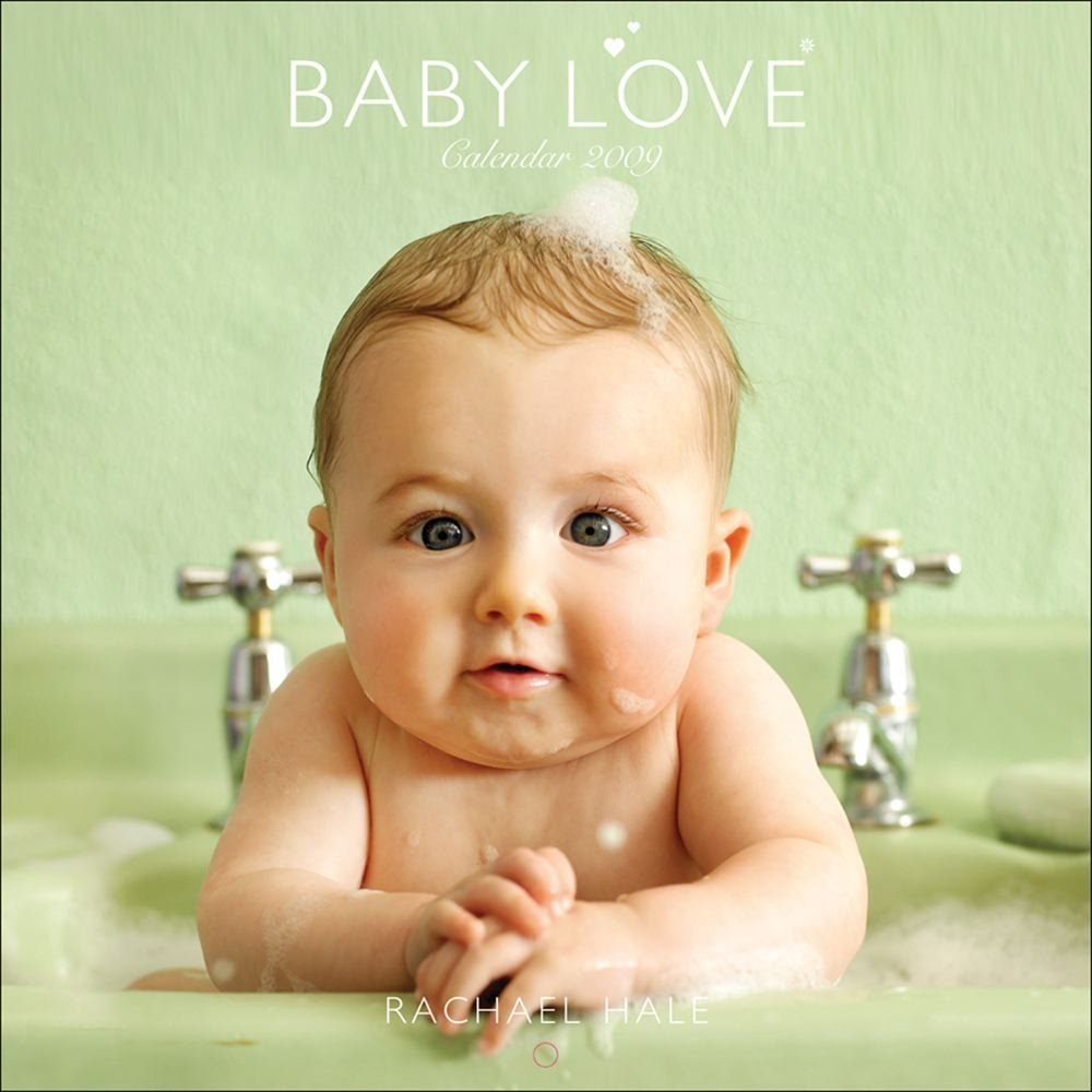 Rachael Hale Baby Love: 2009 Mini Wall Calendar
