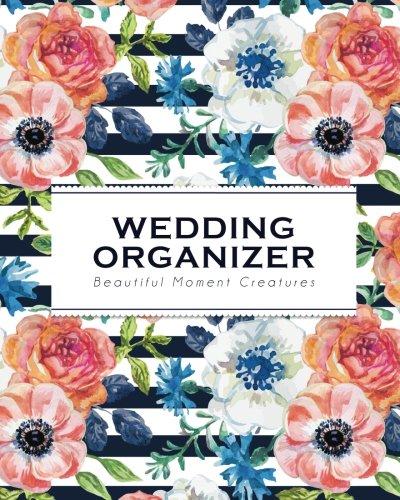 Wedding Organizer: Vintage Blue Flower | Beautiful Moment Creatures - Wedding Organizer Planner