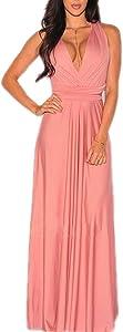 Win A Free PERSUN Women's Convertible Multi Way Wrap Maxi Dress Long...