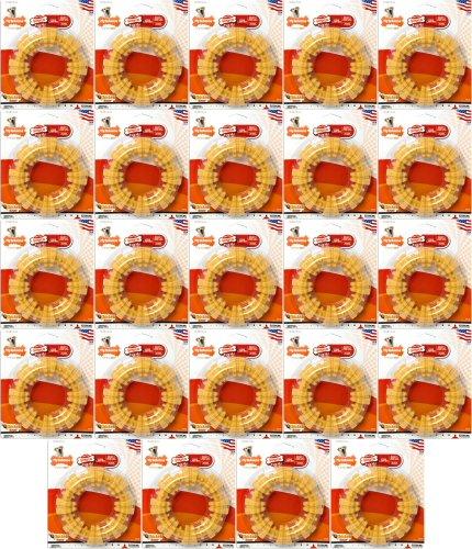 Nylabone Dura Chew Textured Ring Chicken, Souper (24 x 1pk) by Nylabone