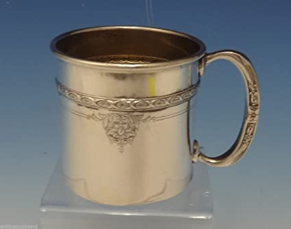 8b61a5052827 Image Unavailable. Image not available for. Color  Louis XIV by Towle Sterling  Silver Baby Cup 2 ...