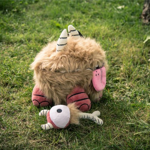 Cheshire Cat Tim Burton Costume Ideas (Shalleen Game Don't Starve Chester Plush Toy Stuffed Animal Doll cosplay 28CM Gift)