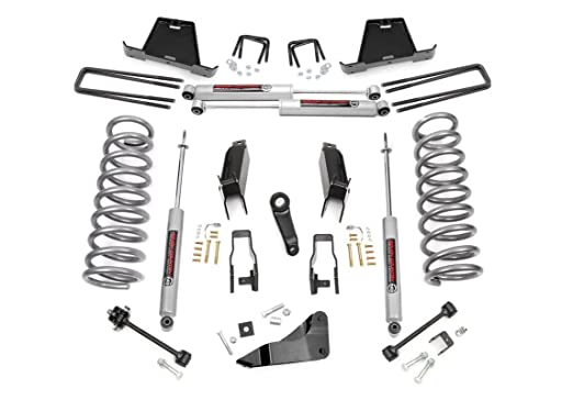 Rough Country - 392.23-5-inch Suspension Lift Kit w/Premium N2.0 Shocks