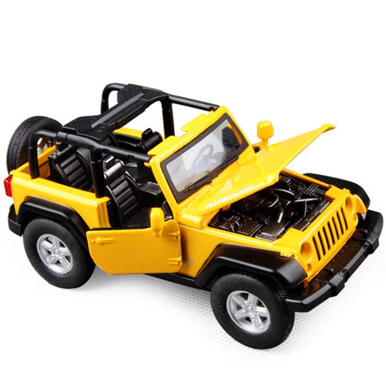 Qrfdian 1 32 Jeep Jeep 1 32 Herder Todoterreno Descapotable Modelo